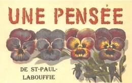 46 - LOT / Fantaisie Moderne - CPM - Format 9 X 14 Cm - ST PAUL LABOUFFIE - Francia