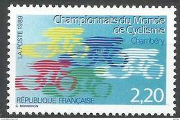 France 1989 2590 ** Cyclisme Championnats Du Monde Chambéry - Vélos - France