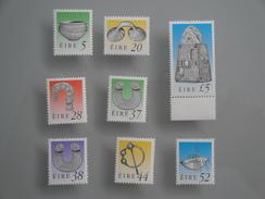 1991  Irlande Yvert 744/6 + 752/6  **  Trésors  Scott Xx Michel 741/3 + 750/4  SG Xx Definitives - Neufs