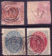 Dänemark 1854/1870 - Gebraucht