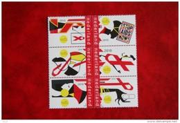 Stop AIDS Now ; NVPH 2770-2775 ; 2010 POSTFRIS / MNH ** NEDERLAND / NIEDERLANDE / NETHERLANDS - 1980-... (Beatrix)