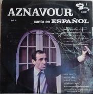 Charles Aznavour 33t. LP ESPAGNE *si Tu Me Llevas* - Andere - Franstalig