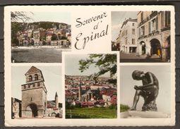 CPM   -    EPINAL  .   Arcades  /  Moselle  /  Basilique St-Maurice  /  Pineau. - Epinal