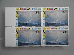 1989  Irlande Yvert 692 **  Bateaux  Ships Scott 754 Michel 689  SG 732 Voilier Whitbread - 1949-... République D'Irlande