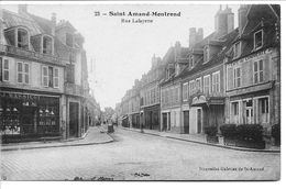 Saint - Amand - Montrond  Rue Lafayette - Saint-Amand-Montrond