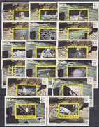 MANAMA 1970 Mi # 306 - 321 APOLLO 11 SPACE 12 EINZELBLOCKS CTO - Manama