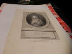 PETITEGRAVURE DE LOUIS XVII. - Lithografieën