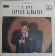 Charles Aznavour 33t. LP COLOMBIE *el Gran Charles Aznavour* - Andere - Franstalig