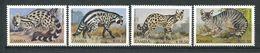 202 ZAMBIE 1990 - Yvert 522/25 - Felin Serval - Neuf ** (MNH) Sans Trace De Charniere - Zambie (1965-...)
