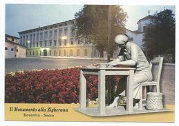 Trento 2012,  Rovereto - Monumento Alla Zigherana Presso La Ex Manifattura Tabacchi Di Sacco - Trento