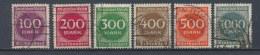 Duitse Rijk/German Empire/Empire Allemand/Deutsche Reich 1923 Mi: 268-273 Yt: 243-248 (Gebr/used/obl/o)(2577) - Duitsland