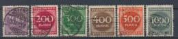 Duitse Rijk/German Empire/Empire Allemand/Deutsche Reich 1923 Mi: 268-273 Yt: 243-248 (Gebr/used/obl/o)(2578) - Duitsland