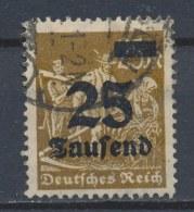 Duitse Rijk/German Empire/Empire Allemand/Deutsche Reich 1923 Mi: 283 Yt: 259 (Gebr/used/obl/o)(2579) - Duitsland