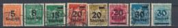 Duitse Rijk/German Empire/Empire Allemand/Deutsche Reich 1923 Mi: 277-282,284-285 Yt:  (Gebr/used/obl/o)(2580) - Duitsland