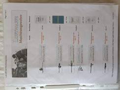 Documentation Sur Les Armes De Bord Avions Allemand - Armes Neutralisées