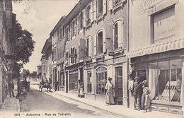Aubonne - Rue De Trévelin - Affiche Pour Cartes Postales - Animé - 1916         (P-68-50111) - VD Vaud