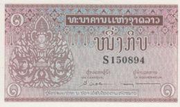 (B0149) LAOS, 1962 (ND). 1 Kip. P-8a. UNC - Laos