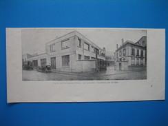 (1931) L'entrée Des Établissements BANANIA, Rue Lambrechts, à Courbevoie, Près De Paris - Vieux Papiers