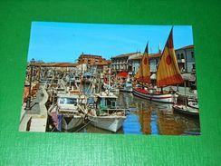 Cartolina Cesenatico - Porto Canale 1985 - Forlì