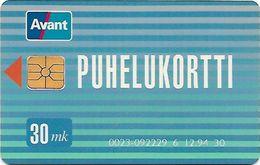 FINLANDE 30 MK - Finlande