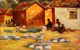 GOLD COAST - TUCKS SERIES V - ASHANTI POTTERS - By E CHEESMAN - Ghana - Gold Coast