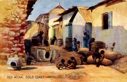 GOLD COAST - TUCKS SERIES VI - OLD ACCRA - By E CHEESMAN - Ghana - Gold Coast
