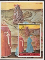 Umm Al Qiwain 1972 Virgilio Dante Alighieri Divina Commedia Inferno Miniatura Illustrazione - Scrittori