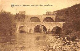Trois-Ponts - Pont Sur L'Amblève (passage De La Loco, Animée, Légia) - Trois-Ponts