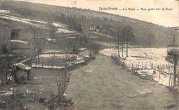 Trois-Ponts - La Salm - Vue Prise Sur Le Pont (neige) - Trois-Ponts