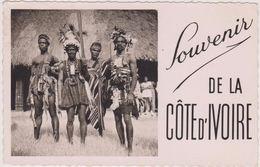 Afrique,africa,COTE D'IVOIRE,FRANCE COLONIE,ABIDJAN,danseur,chef,CARTE PHOTO - Côte-d'Ivoire