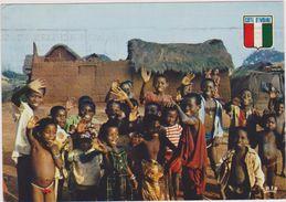 ABIDJAN,cote D´ivoire,afrique De L´ouest Francophone,ENFANTS HEUREUX - Côte-d'Ivoire