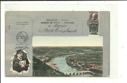 Namur ( Carte Mandat Poste ) Beau Cachet Postal - Namur