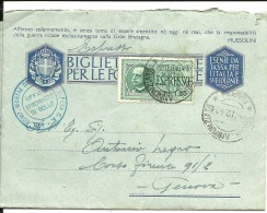 Lettre , Express , Italie 1942 (7) - Oblitérés
