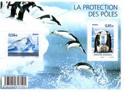 France.bloc F4350 De 2009.protection Des Poles.n**. - Neufs