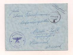 Feldpostbrief Mit Inhalt 11.6.1941 Von FP-Nr. 32051 Nach Maria-Zell Steiermark Ostmark - Covers & Documents