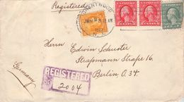 USA - RECO 1922 GRANTWOOD -> BERLIN - Etats-Unis