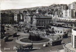 Genova - Stazione Brignole E Panorama - Genova