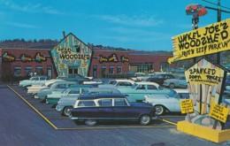 Altoona Pennsylvania, Unkel Joe's Woodzhed Variety Store 'Seconds And Irregular' Merchandise, C1950s Vintage Postcard - United States