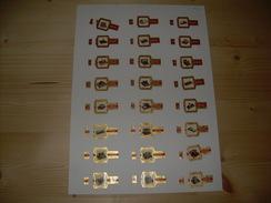 Sigarenbanden Cogetama Serie Schrijfmachines 24 St - Bagues De Cigares