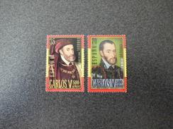 Spain 2000 - Belgium Joint Issue - Karel V 1500-1558 Charles V, Holy Roman Emperor - 1931-Aujourd'hui: II. République - ....Juan Carlos I