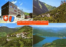 B 1384 - Treni Monte Generoso - Trenes