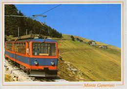 B 1386 - Treni Monte Generoso - Trenes