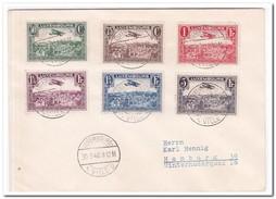 Brief 1940, Luxembourg Ville-Hamburg - Luxembourg