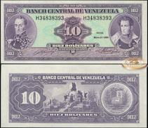 Venezuela. 10 Bolivares (Unc) 1990. Banknote Cat# P.61b [DLC.BN05039] - Venezuela