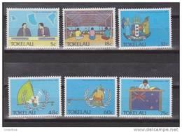 Tokelau 1988 Mi. 153--158** MNH - Tokelau