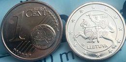 Eurocoins Lithuania 1 Cents 2017 UNC / BU - Lituanie