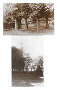SAINTE MARGUERITE SUR MER (76) Deux Carte Photos Villa Domaine Les Tilleuls - France