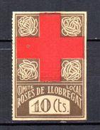 Viñeta Nº 12 Roses De  LLobregat - Vignettes De La Guerre Civile