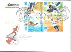 ATENAS ATHENS 2004 JUEGOS OLIMPICOS ARGENTINA L'ARGENTINE SERIE COMPLETA FDC SOBRE OLYMPIC GAMES - Winter 2012: Innsbruck (Olympische Jugendspiele)