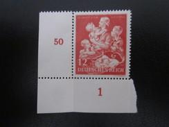 Deutsches Reich Nr. 859 Eckrand Postfrisch** (B35) - Allemagne